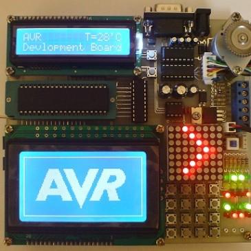 کلاس آموزشی میکروکنترلر های AVR