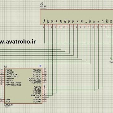 راه اندازی LCD گرافیکی