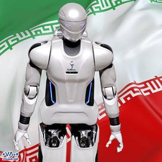 رونمایی از ربات انسان نمای سورنا ۳