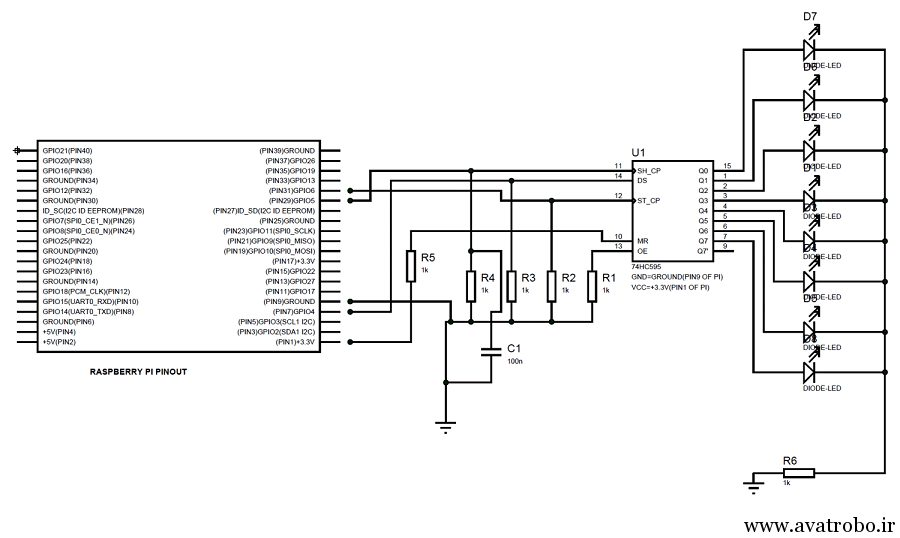 Raspberry-Pi-with-Shift-Register-circuit-diagram