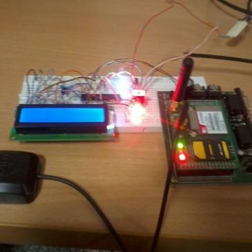 پروژه GSM همراه با قابلیت ارسال دما و قطع و وصل رله