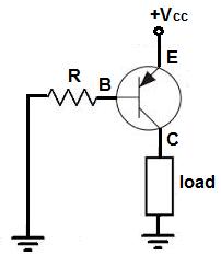 PNP-transistor-biasing-circuit