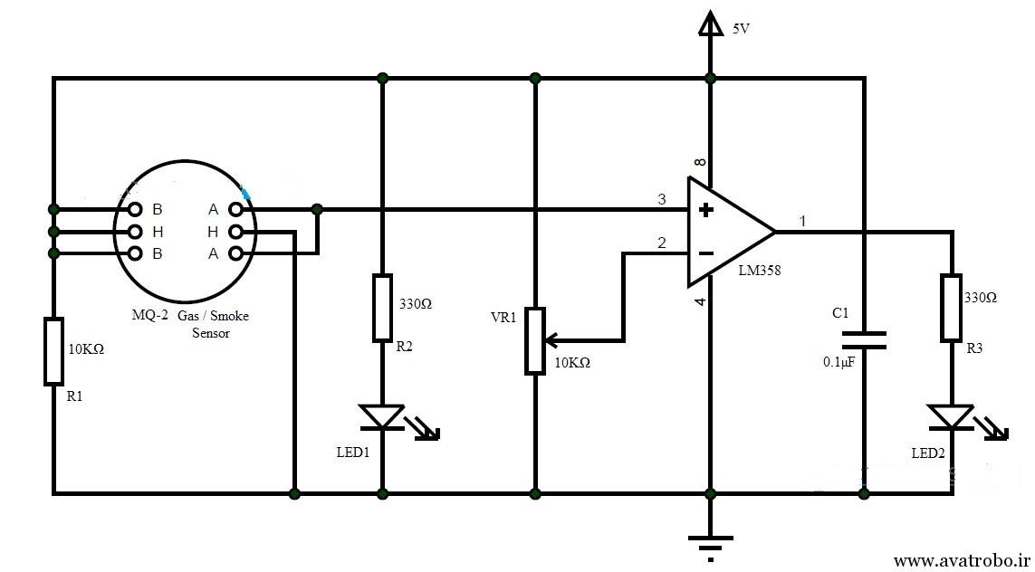 Smoke-Detector-Circuit