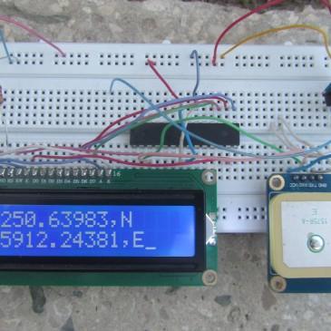 راه اندازی ماژول GPS با AVR