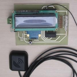 سرعت سنج با GPS با قابلیت فعال سازی رله