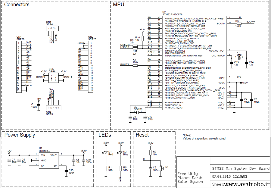 stm32 schematic