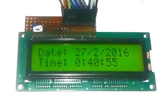 ساخت ساعت با استفاده از آردوینو و ماژول جی پی اس