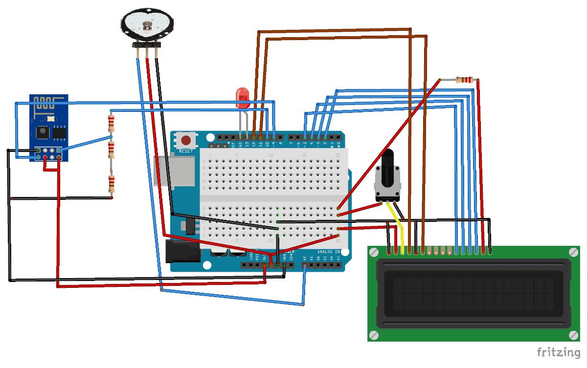 مانیتورینگ ضربان قلب بر روی اینترنت بوسیله Arduino و ThingSpeak