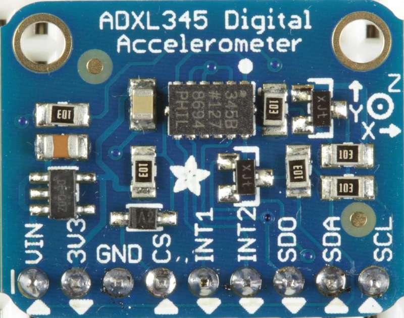 آشنایی با شتاب سنج دیجیتال ADXL345 و کالیبره کردن آن