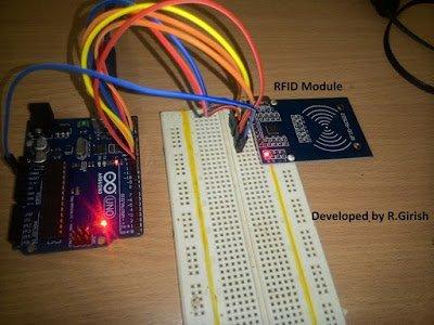 مدار RFID با استفاده از آردوینو
