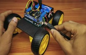 Bluetooth Controlled Car 1