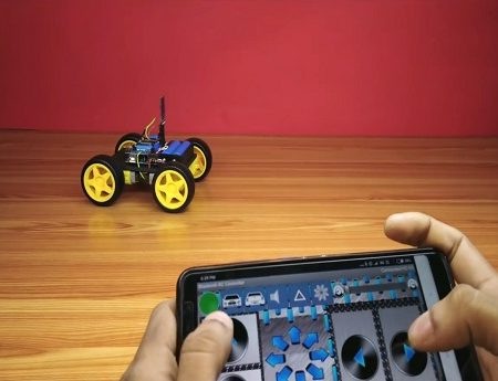 Bluetooth Controlled Car 2