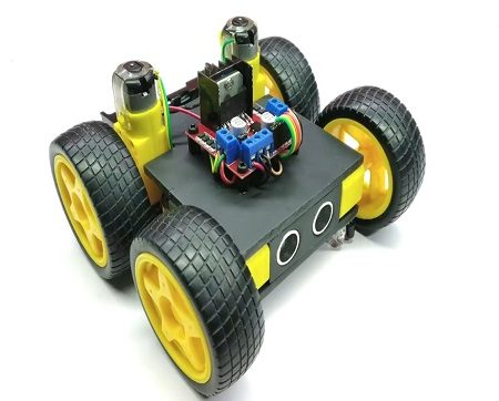 Obstacle Avoidance Line Follower Robot 1