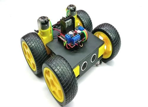 Obstacle Avoidance Line Follower Robot 1