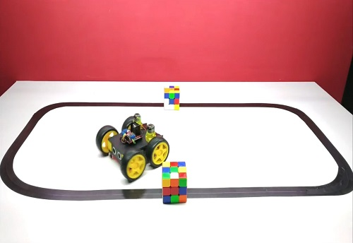 Obstacle Avoidance Line Follower Robot 2