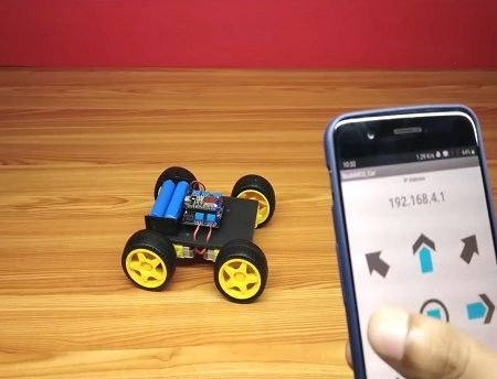 WIFI Controlled Car 2