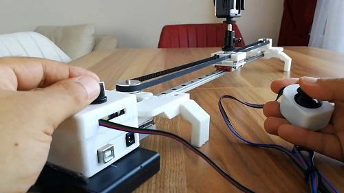 Motorized Camera Slider1